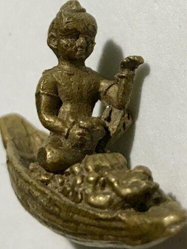 KUMAN//LITTLE GUARDIAN ANGEL PHRA LP RARE OLD THAI BUDDHA AMULET PENDANT MAGIC#11