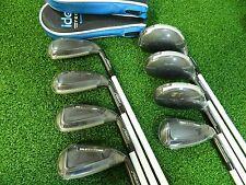 New Adams IDEA Tech Combo Irons 3h-PW All Graphite Regular flex iron set
