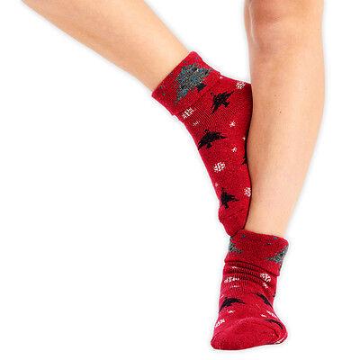 Ladies Thigh High 3 Stripe Socks UK 4-6.5 Various Colours Womens Cotton Rich
