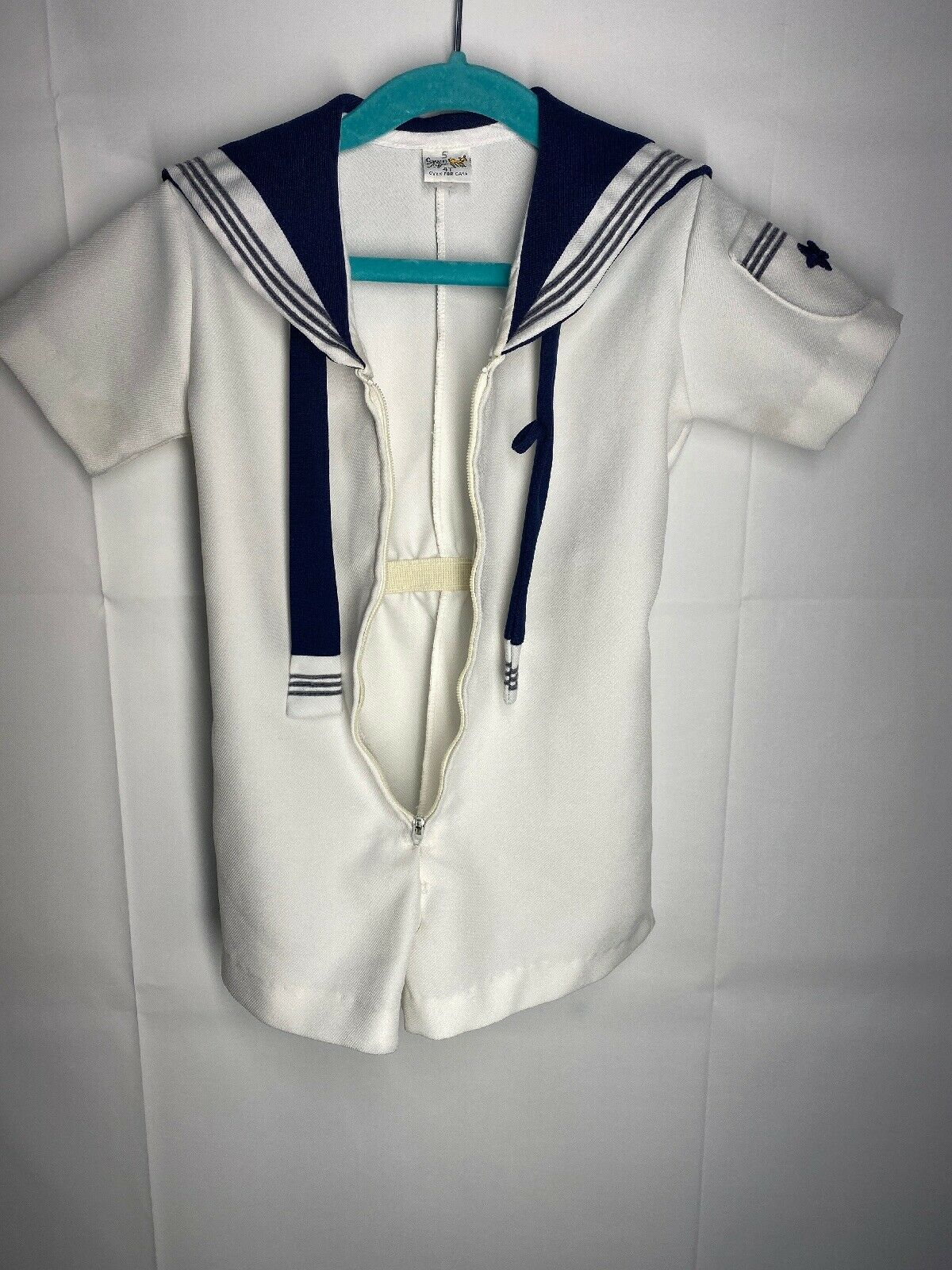 Romper Nautical Sailor Vintage 4T - image 11