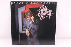 Eddie-Money-Wheres-the-Party-Original-with-insert-Vinyl-LP-Record-Album-1983