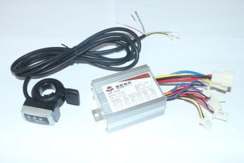 36V 500W Motor Brushed Controller Speed Control Thumb Twist Throttle E-Bike
