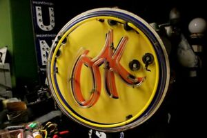 Old-Chevrolet-Used-Car-OK-porcelain-neon-sign-Old-Chevrolet-Used-Car-OK-porcel
