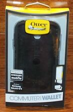 Black OtterBox Computer Series Wallet Designed For Mobile Samsung Galaxy S4