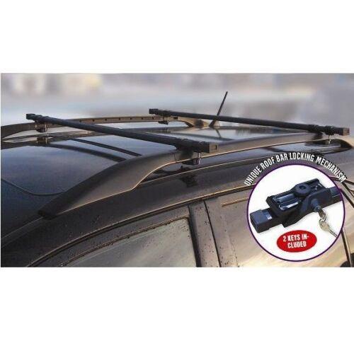09+ SKODA OCTAVIA ESTATE HEAVY DUTY CAR ROOF BARS RACK RAILS LOCKABLE