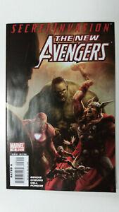 NEW-AVENGERS-40-1st-Printing-Veranke-Skrull-Queen-2008-Marvel-Comics