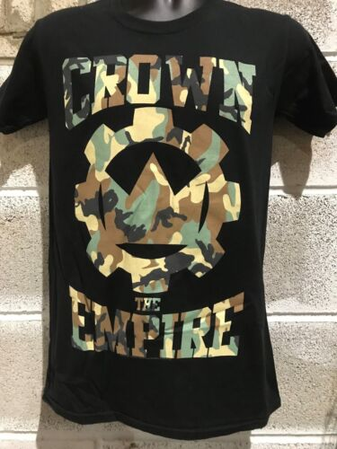 "Men/'s Ex Store Black /""Crown the Empire/"" T Shirts"