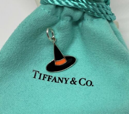 Tiffany & Co. Sterling Silver 925 Enamel Witch Hat
