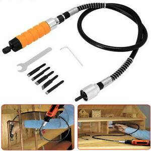 Wood-Chisel-Carving-Knife-Wrench-For-Electric-Drill-Flexible-Shaft-Tool-Set