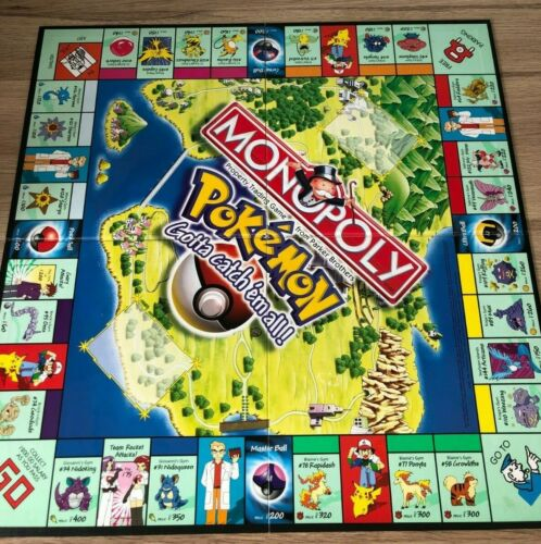 PARKER HASBRO REPLACEMENT SPARE PARTS PLAYING PIECES ONLY POKEMON MONOPOLY