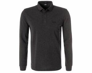 Hugo-Boss-Black-Pado-10-50391549-202-Mangas-Largas-Camisa-Polo-Para-Hombre-Top-Marron-Oscuro
