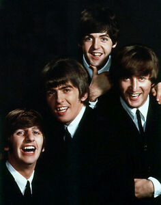 The Beatles Photo Print 14 x 11/""