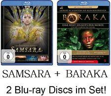 SAMSARA + BARAKA - Ron Fricke - 2 Blu-ray Disc im Set! NEU + OVP!
