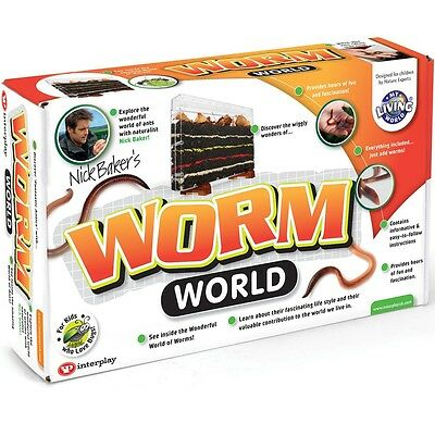 Worm World, Kids Fun Educational Science Nature Toy