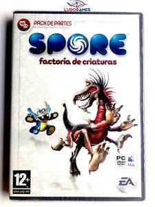 Spore-Fabrique-Creatures-PC-Neuf-Scelle-Videogame-Videojuego-Scelle-Nouveau