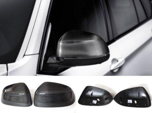BMW 2014-2016 2 Series F22 F23 CARBON FIBER SIDE MIRROR COVER CAPS