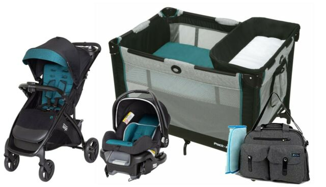 Baby Stroller with Car Seat Travel System Combo Playard ...