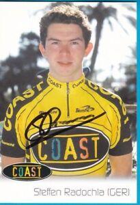 CYCLISME-carte-cycliste-STEFFEN-RADOCHIA-equipe-COAST-signee
