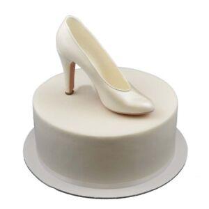 35daad8c89aee Details about Edible 3D High Heel Women Shoe Sugar Flower Fondant Topper  cake decorations
