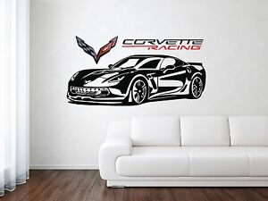 Image Is Loading Chevrolet Corvette Z06 ZR1 Racing Sport Front Car