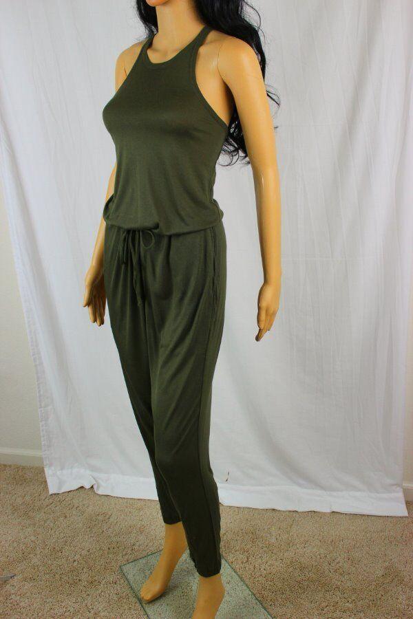 POLO Ralph Lauren Sleeveless Green Jumpsuit Romper NWT
