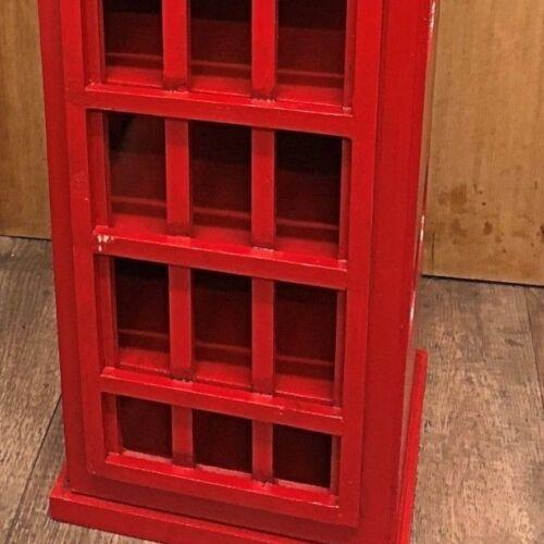 Téléphone Box Casier à vin fait main Rétro Bouteille de conservation
