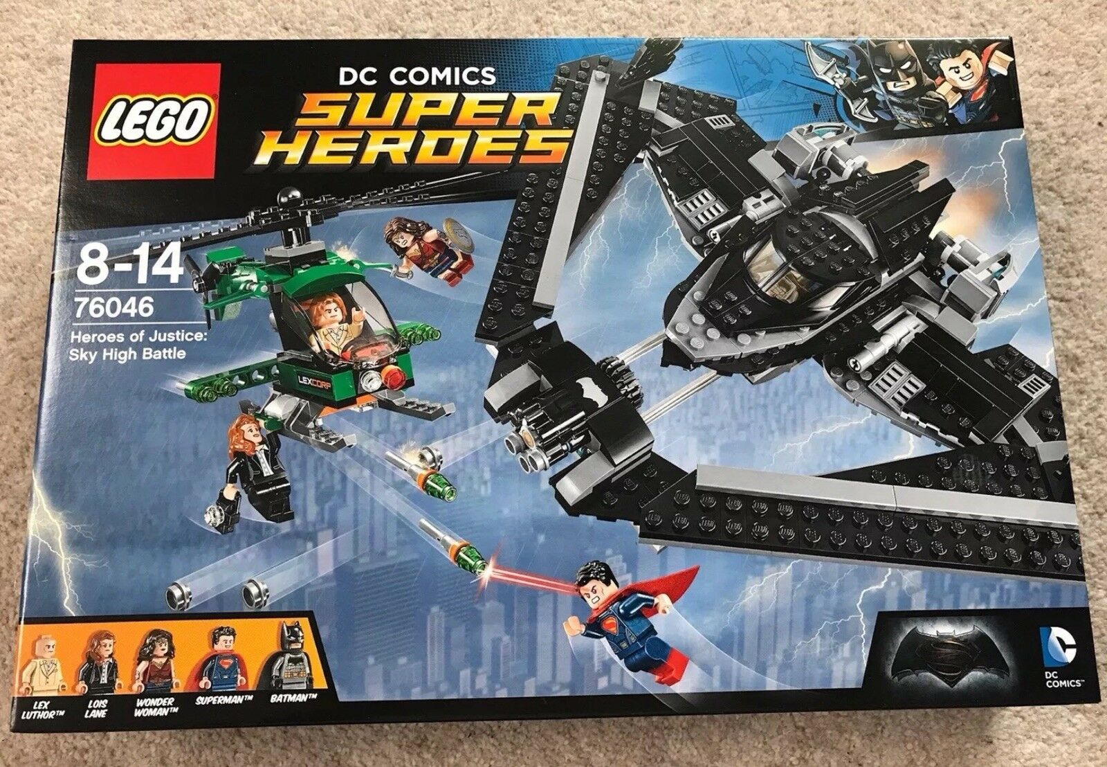 Lego DC Super Heroes Batman Heroes of Justice Sky High Battle 76046 – NEW
