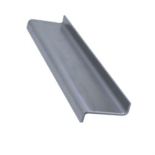 Stahl Z-Profil 2,99mm gekantet Kantenschutz Eckschutz Kantblech Abdeckung 2000mm