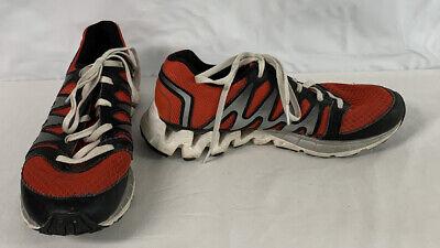 White Zig Tech Running Shoes Size