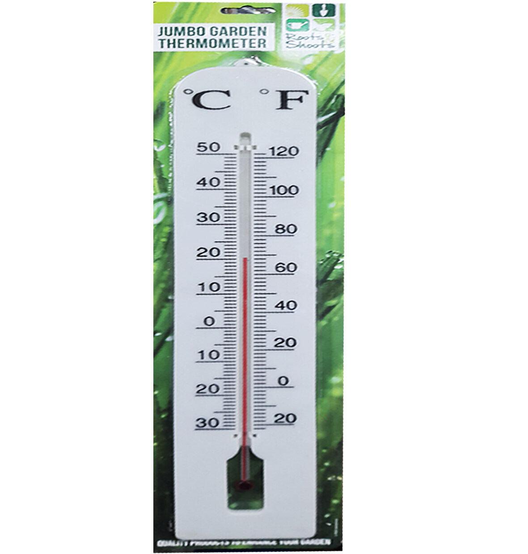 JUMBO GARDEN THERMOMETER Indoor Outdoor Home Office Garden Temperature Mounted