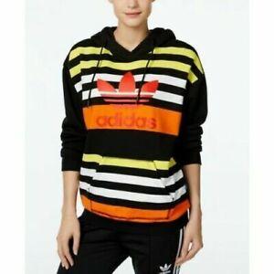 adidas hoodie yellow stripes