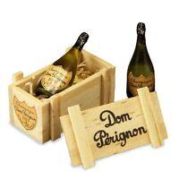 Dollhouse Miniature 1:12 Scale Dom Perignon Champagne Gift Set