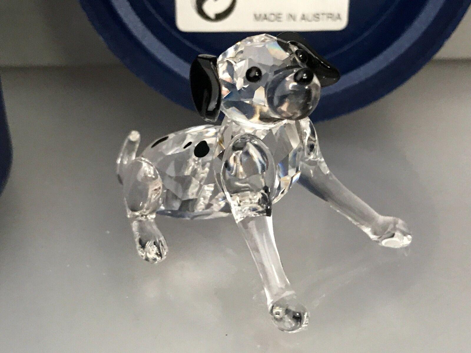 Swarovski Figur Dalmatiner 6 cm.Mit Ovp & Zertifikat.Top Zuland