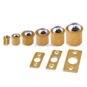 100pcs Brass Magnetic Door Catches Cupboard Wardrobe Kitchen Cabinet