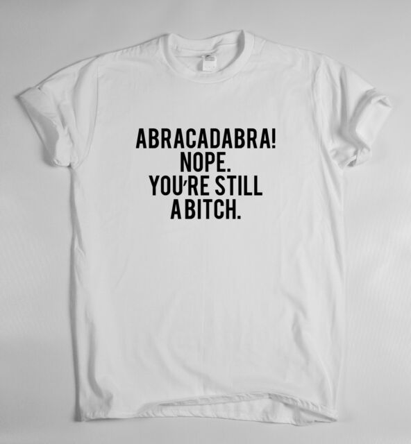 ABRACADABRA CAMISETA TOP Marihuana Hipster Indie Swag Camiseta Tumblr Fresh