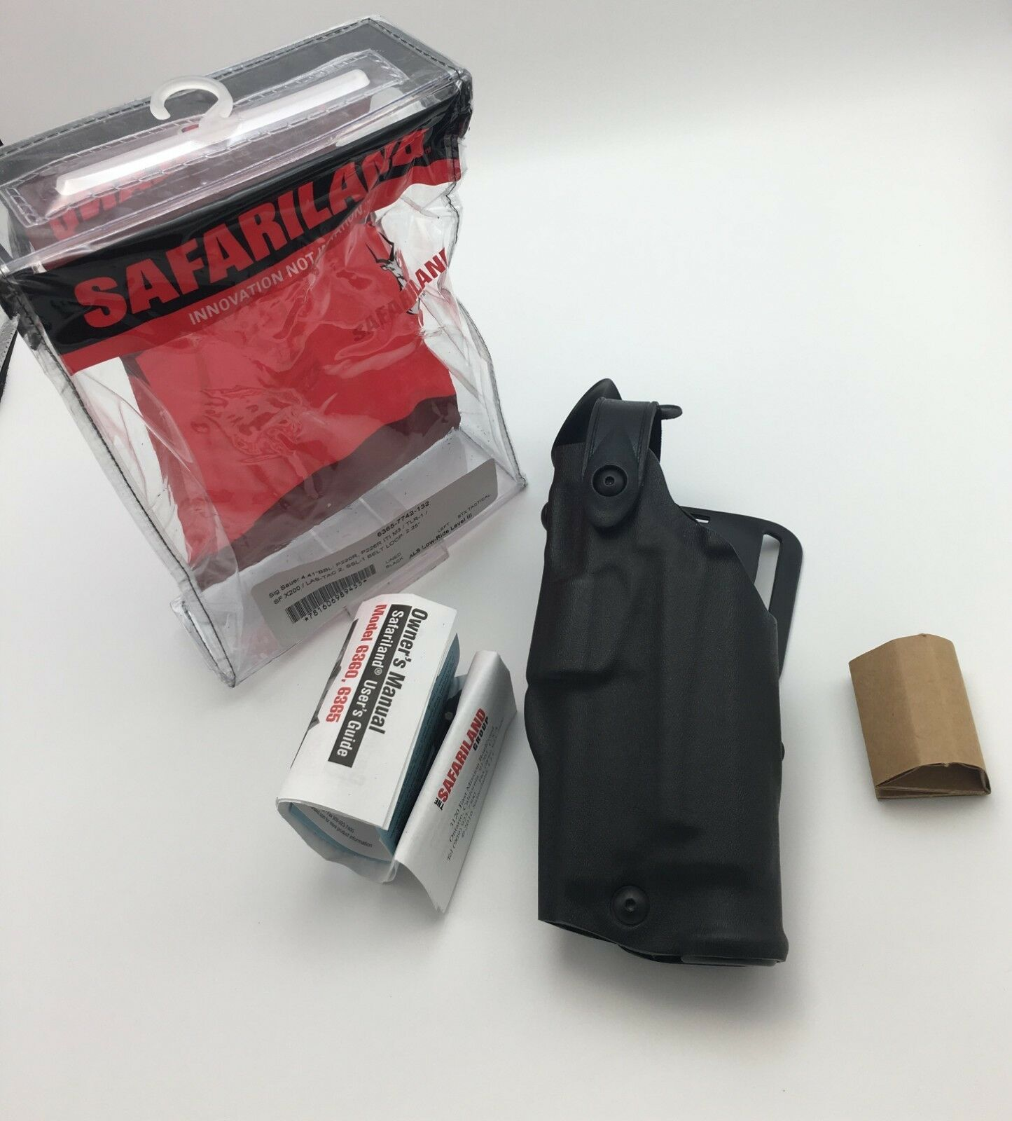 Fits SIG 226 220 w  LIGHT   Safariland 6365 ALS SLS Level 3 Duty LH Holster STX