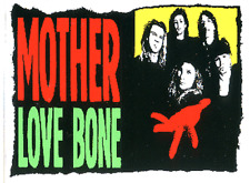 7981 Mother Love Bone Band Logo Hard Rock Grunge Alternative Sticker / Decal