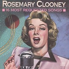 "Rosemary Clooney, ""16 Most Requested Songs""  (CD, Aug-1989)"