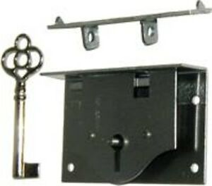Half Mortise Chest Lid Lock With Key M1808 Ebay