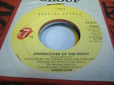 Rock 45 THE ROLLINGSTONES Undercover Of the Night on Rolling Stones