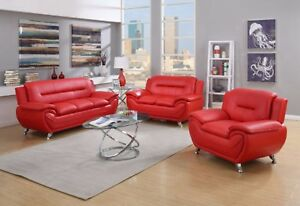 Details about Greatime SS2301 Modern Sofa(Black/Red/Beige/Grey)