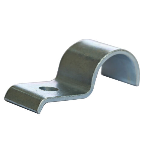 26mm x 1 Mild Steel with Zinc Plated CR3 Finish Half Saddle Clamp Heavy 10 Pack