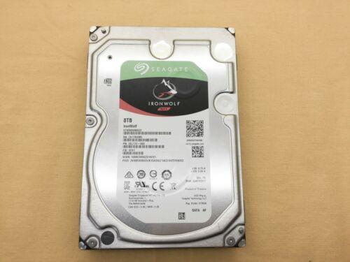 Seagate 8TB IronWolf 6Gb//s NCQ 256MB 3.5-Inch Internal Hard Drive ST8000VN0022