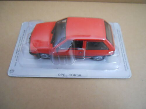 MV40-1 Legendary Cars OPEL CORSA 1° SERIE RED ROSSA 1:43 Die Cast