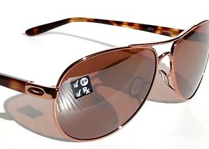 d234a3220e Details about NEW  Oakley TIE BREAKER Rose Gold AVIATOR POLARIZED PRIZM  Women s Sunglass 4108