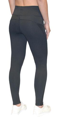 Damen Schwarz Sporthose Leggings Jogginghose Laufhose Freizeit Yoga Training