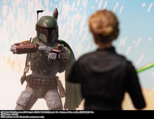 H Figuarts BOBA FETT Figure STAR WARS Episode VI Return of the Jedi BANDAI S