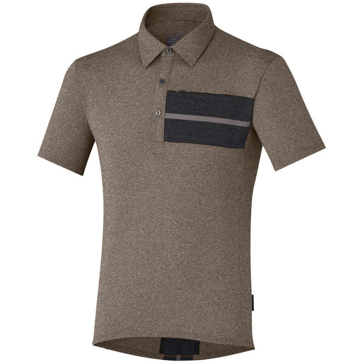 Shimano ECWJSCSQS31MA5 Transit  Polo Men LG Morel Casual Style Cycle Polo Shirt  wholesale price and reliable quality
