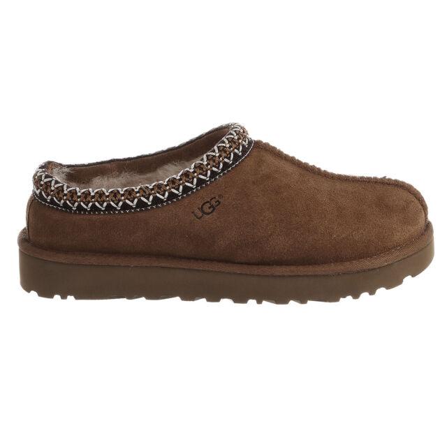 cf661104f27 UGG Australia Womens Tasman Sheepskin Suede Slippers Chestnut 8 Med 5955