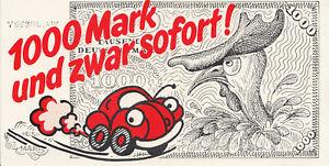 Aufkleber - VW-Tarifrunde in den 80igern - Roter Käfer